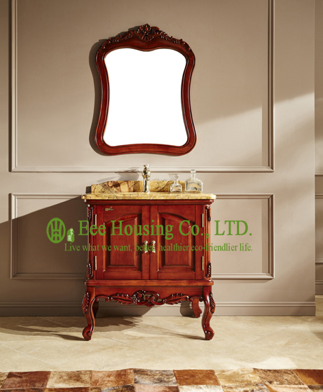Bathroom Cabinet Best Selling Product Import Home Depot Wood Antique Waterproof Bathroom Cabinet