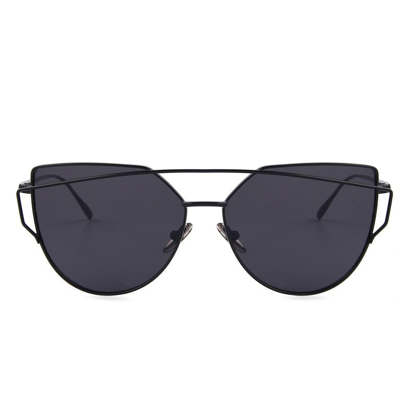 Солнцезащитные очки Для женщин новые Брендовая Дизайнерская обувь сплава храм плоский объектив солнцезащитные очки Винтаж с коробкой UV400 ...
