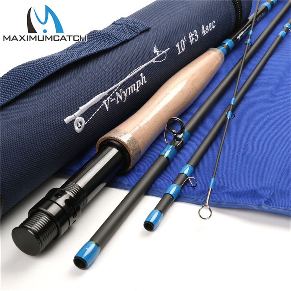 Im12 carbon fiber nymph fly fishing rod nymph 10ft 3wt for Carbon fiber fishing rod
