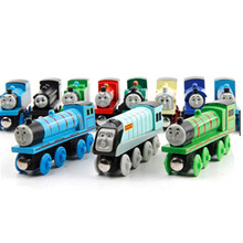 25 magic toy truck Thomas wooden train model education DIY mini version children birthday gift Christmas