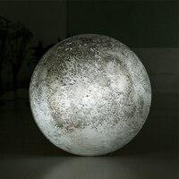 LEDดวงจันทร์คืนแสงที่มีการควบคุมระยะไกลผ่อนคลายการรักษาดวงจันทร์โคมไฟในร่มสำหรับเด็กเด็...