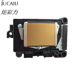 Image 1 - Jucaili מקורי DX7 הדפסת ראש סמארטפון/ראשון/שני נעול F1890010 ראש הדפסה עבור EPSON Allwin Xenons אקו ממס מדפסת