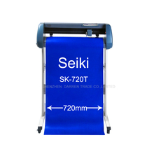 Cutting Plotter Vinyl Cutter 100% Brand New Cutting Machine Serial (RS -232)  USB Connector Contour Cut Seiki SK-720T 110V/220V