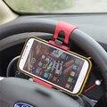 Annongone teléfono volante del coche universal de montaje soporte para iphone para galaxy s4 s5 s6 note 3 4 gps sostenedor del teléfono del coche