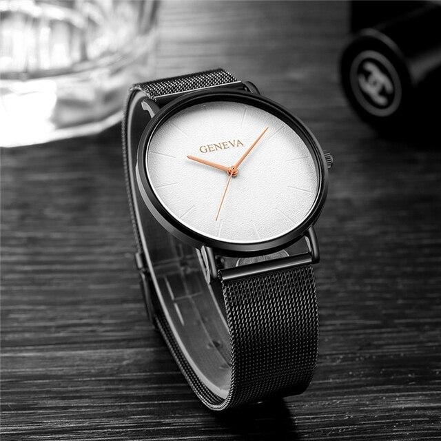 Luxury Brand 2019 New Men Watch Ultra Thin Stainless Steel Clock Male Quartz Sport Watch Men Casual Wristwatch relogio masculino 1