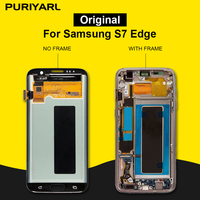 100% AAA Super AMOLED экран для Samsung Galaxy S7 Edge G935F g935fd ЖК дисплей сенсорный экран планшета ремонт замена