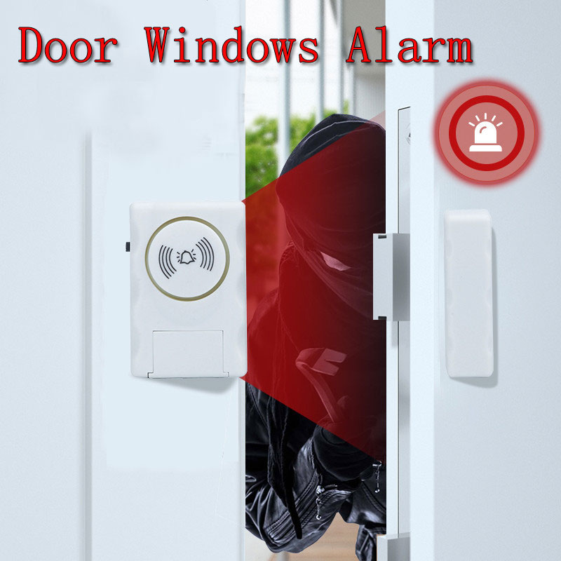 Kids Safety Wireless Entry Home Door Window Burglar Alarm Safety Security Protection Anti-Theft ALARM System Magnetic Sensor