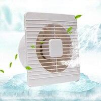 6 inch exhaust fan kitchen bathroom toilet exhauster glass window wall fan D191