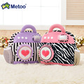 Metoo камеры плюшевые рюкзак творческие детские плечах сумка красный синий зеленый фиолетовый цвет