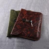 Gathersun Brand Original Design Handmade Genuine Leather Envelope Bag High Quality Cowhide Handbag Vintage 13 Laptop
