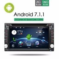 Bosion Android 7.1.1 Car Stereo Radio DVD Multimedia GPS Nav MP3 MP5 OSD Language Russian German Spanish English AUX+Free Camera