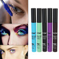 High Quality!Brand Makeup rimel colossal Cosmetic Colorful Waterproof Lengthening Thick Curly Eyelashes Mascara 5 Colors