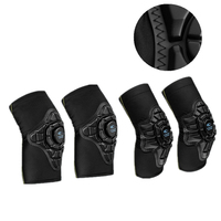 4Pcs/set Kids Cycling Knee Pads/Elbow Pads Protector Balance Bike Child Knee Brace Guard Elbow Safety Equipments For Boys&Girls