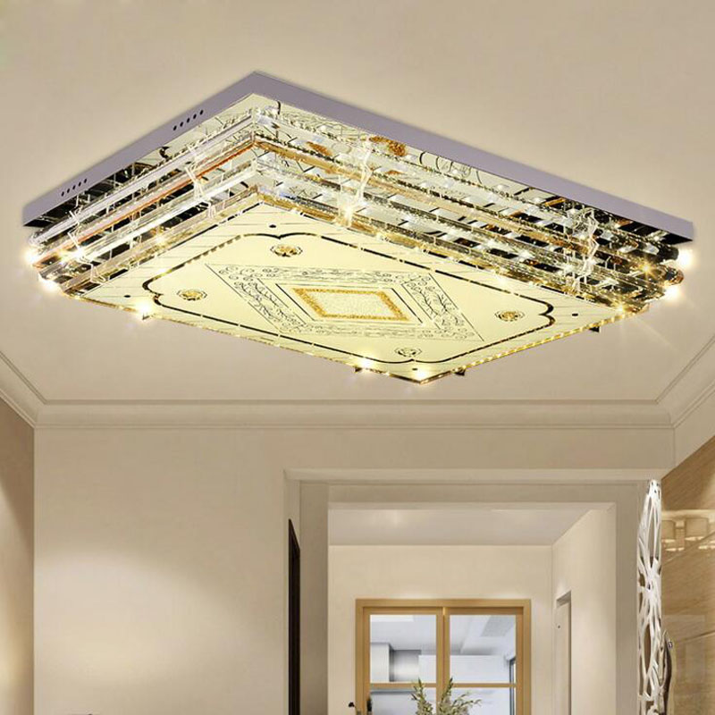 European crystal ceiling lamp home low voltage crystal lamps creative living room lamp restaurant LED ceiling lighting fixture