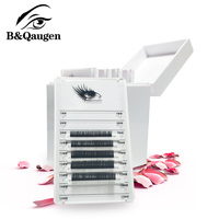Eyelash Storage Box Acrylic Box Holder Grafting Eyelashes Extension 5 Layers Makeup Lash Display Stand False Eyelash Glue Pallet