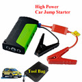 12V Car Battery Booster Charger Professional 400A Peak Jumper Starter 2USB Mobile Phone Laptops Power Bank SOS Lights Free Ship