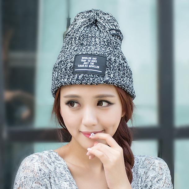 70bed8aa492 √Autumn and winter fashion male women s thermal knitted hat winter ...