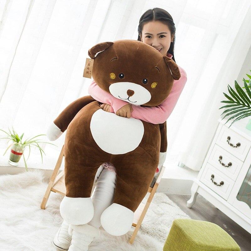 100 cm géant énorme gros ours en peluche en peluche jouets en peluche poupée cadeau Animal en peluche