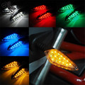 5 colors available lighting motorcycle turn signal light colorful unviersal 10mm motorbike flashers moto LED indicator amber hot