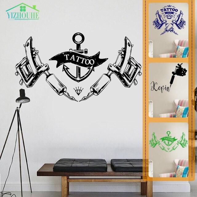 Aliexpress.com : Buy YIZHOUHE Creative Tattoo Parlor Gun Machine ...
