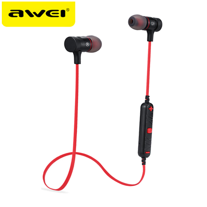 Origina AWEI A920BL Bluetooth Headphones Smart Wireless Earphone Sport Headset Ecouteur Auriculares Fone De Ouvido kulaklik showkoo stereo headset bluetooth wireless headphones with microphone fone de ouvido sport earphone for women girls auriculares