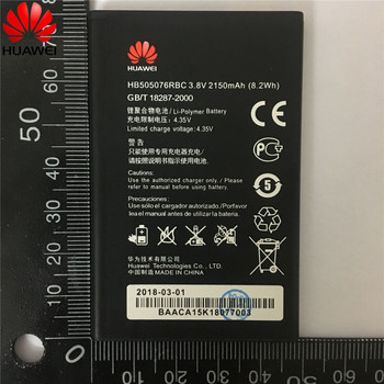 0d100ab7cef 3,8 V 2150 mAh HB505076RBC para Huawei Ascend G527 A199 C8815 G606 G610  G610-U20 G700 G710 G716 G610S/C /batería T Y600 Y600-U20