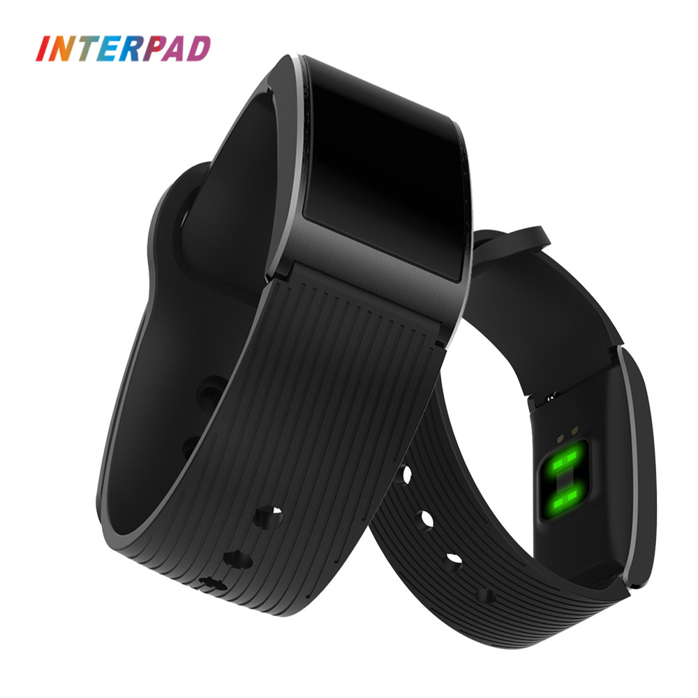 2018 Interpad New Bluetooth 4.0 Smart Watch IP68 Waterproof Wristwatch Support Heart Rate Blood Pressure Monitor Smartwatch