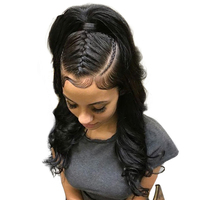 You May Hair Brazilian Remy Hair Body Wave 100 Human Hair 360 Lace Frontal Closure