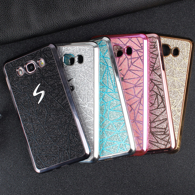 Bling Glitter Water Cube Phone Case For Samsung Galaxy Core Prime G360 G360H G361H G361F SM-G361H Soft Silicone TPU Cover Funda