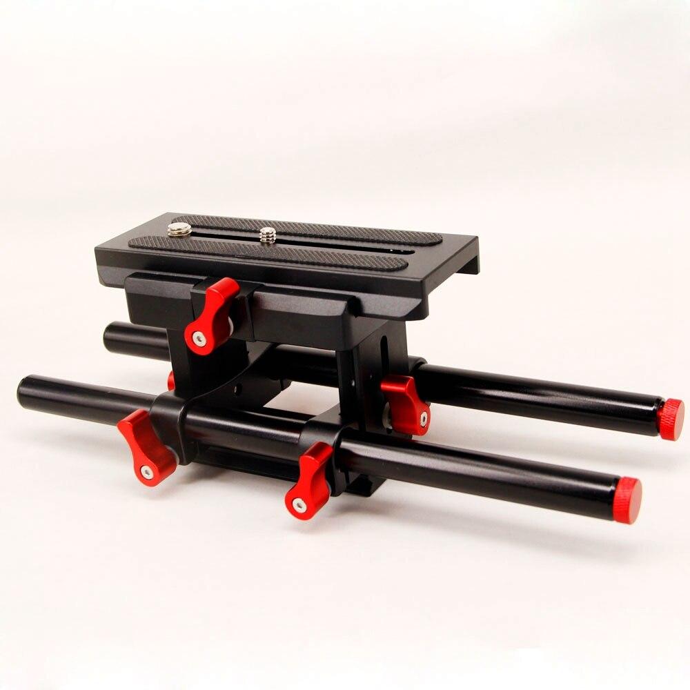 DSLR Rail 15mm Система підтримки штанги з - Камера та фото - фото 2