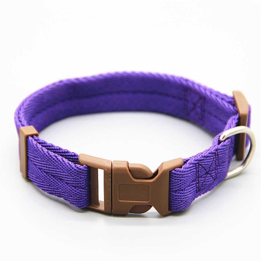 Premium nylonowa obroża dla psa z klamrą żywy regulowany klips klamra obroże dla psów obroże głowy rozmiar S/M/L/XL Drop Shipping