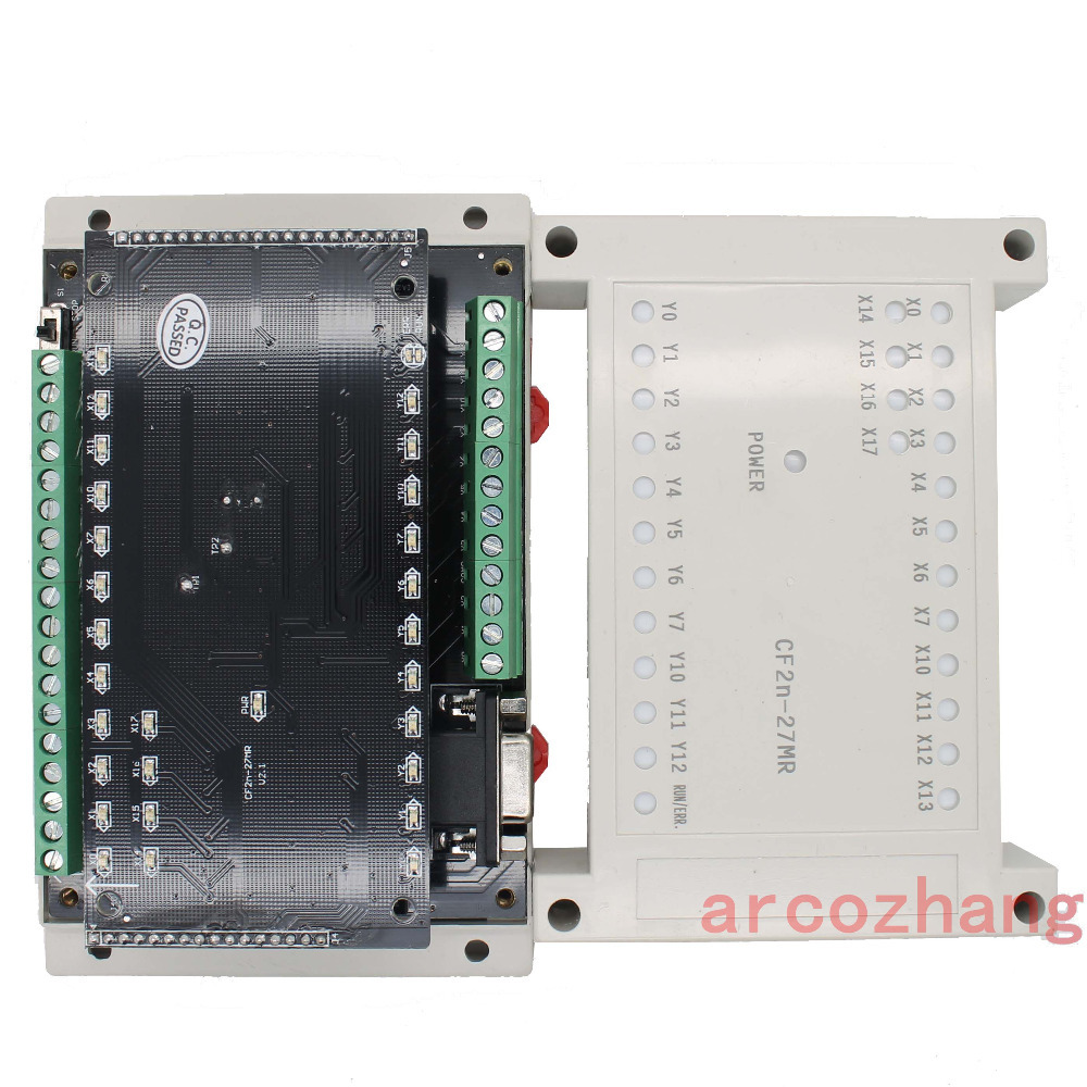 Fx2n Cf2n 27mr Programmable Logic Controller 16 Input 11 Relay Ladder Control Systems Output Plc Automation Controls System In Motor From Home