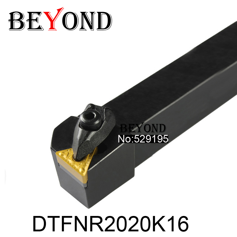 BEYOND New DTFNR DTFNR2020K16 DTFNL2020K16 20*20 D-type Turning Tool Holder Lathe Cutter Tools Holder Boring Bar CNC Lathe Tools