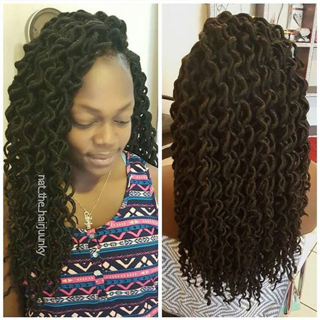 20 Quot 24 Roots Faux Locs Crochet Hair Crochet Braids