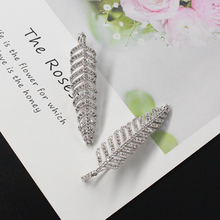 CHENFAN earrings for women 2019 earring with stones Womans accesories plant leaf jewelry