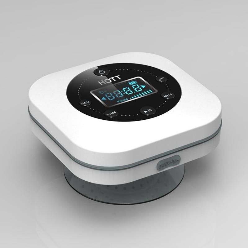 Wireless Mini Bathroom Bluetooth Speaker Waterproof Handsfree Music Player Sound Water Speaker Long Lasting Bathroom Loudspeaker