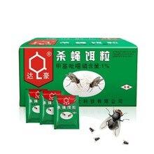 50 шт., порошковая приманка для борьбы с вредителями, мухи, насекомые, инсектицид, ловушка для мух, комаров, отвергающие чудесные жуки