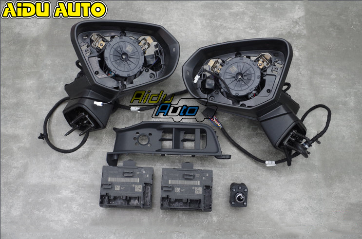 For Audi Q2 LHD AUTO folding electric Mirror UPGRADE KIT