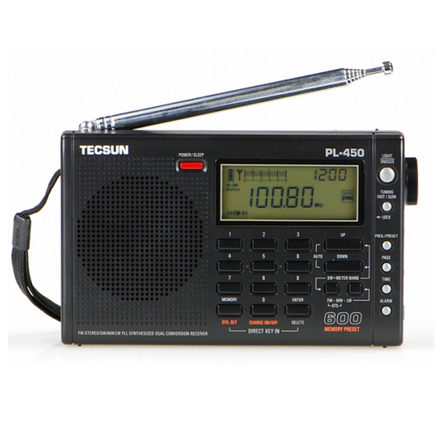 timing fonction tecsun pl 450 radio r cepteur fm am sw mw lw pll synth tiseur poste radio fm. Black Bedroom Furniture Sets. Home Design Ideas