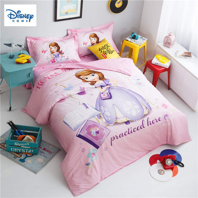 Princess Sofia Comforter Bedding Sets For Girls Bedroom Decor Twin