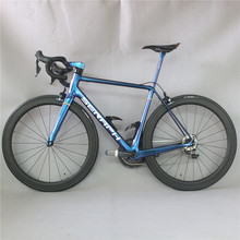 Superlight carbon road complete bike FM629 toray carbon fiber t800 22 speed with Shimao R8000 groupset