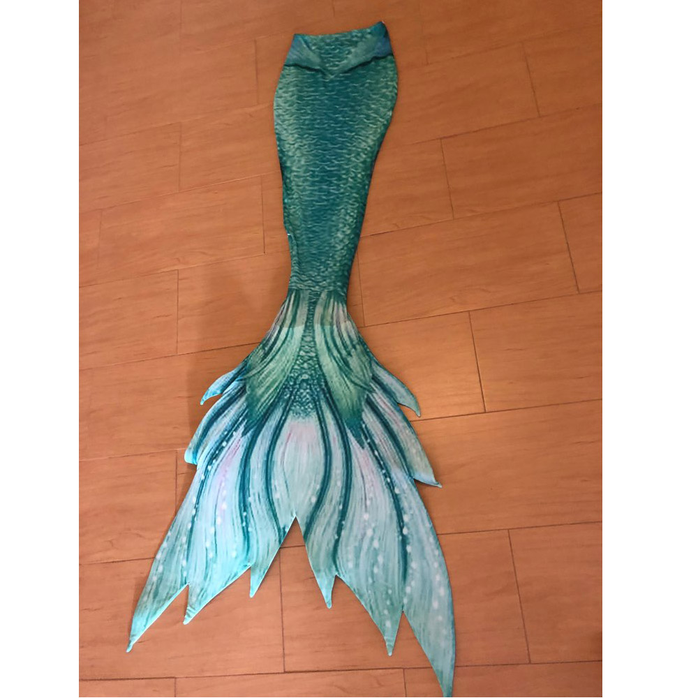 Customized Mermaid Tail for Swimming Swimsuit Tail and Fins Monofin Swimmable Mermaid Swimwear for Girls Kids Adults Costumes-in Girls Costumes from Novelty & Special Use    1