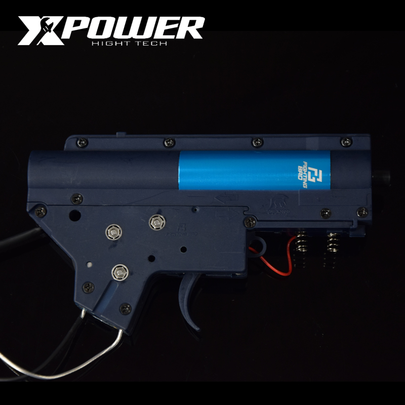 XPOWER 3.0 FightingBro Split Gel Blaster Gearbox Ver.2 Nylon Update BD556 Maopul TTM SLR LDT416 ReceiverXPOWER 3.0 FightingBro Split Gel Blaster Gearbox Ver.2 Nylon Update BD556 Maopul TTM SLR LDT416 Receiver