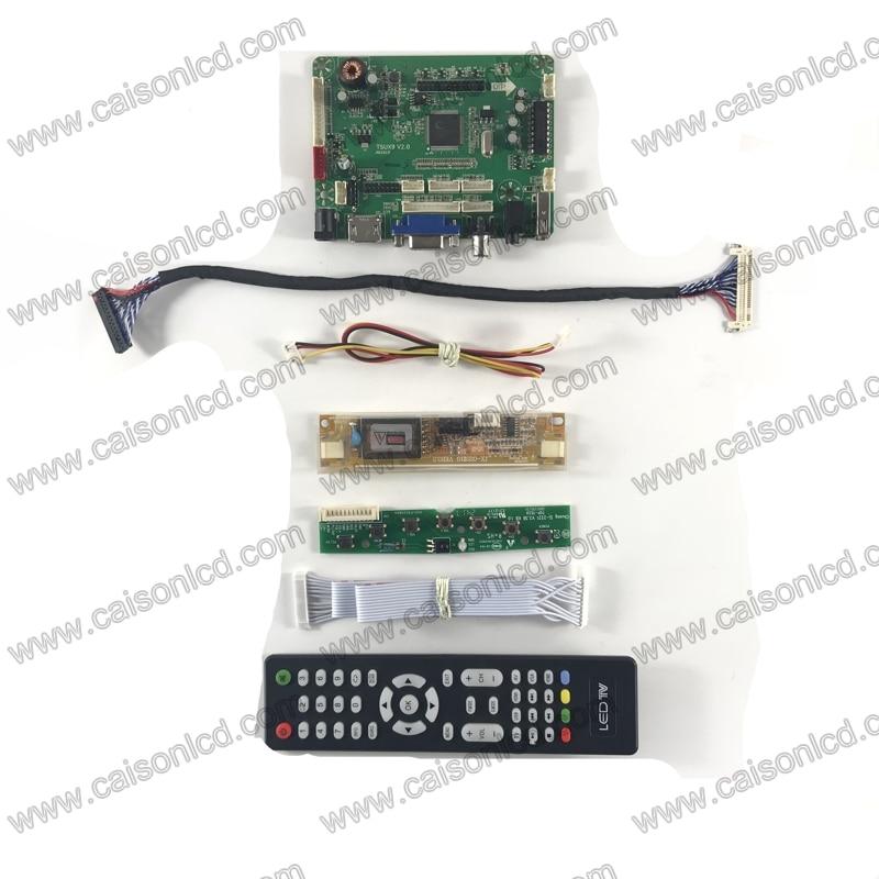 TSUX9 V2.0 LCD Controller Board With HDMI VGA AV AUDIO For LCD Panel 19 Inch 1440X900 LM190WX1-TLL1 TLL7 M190PW01 V7 V6 V5 DIY