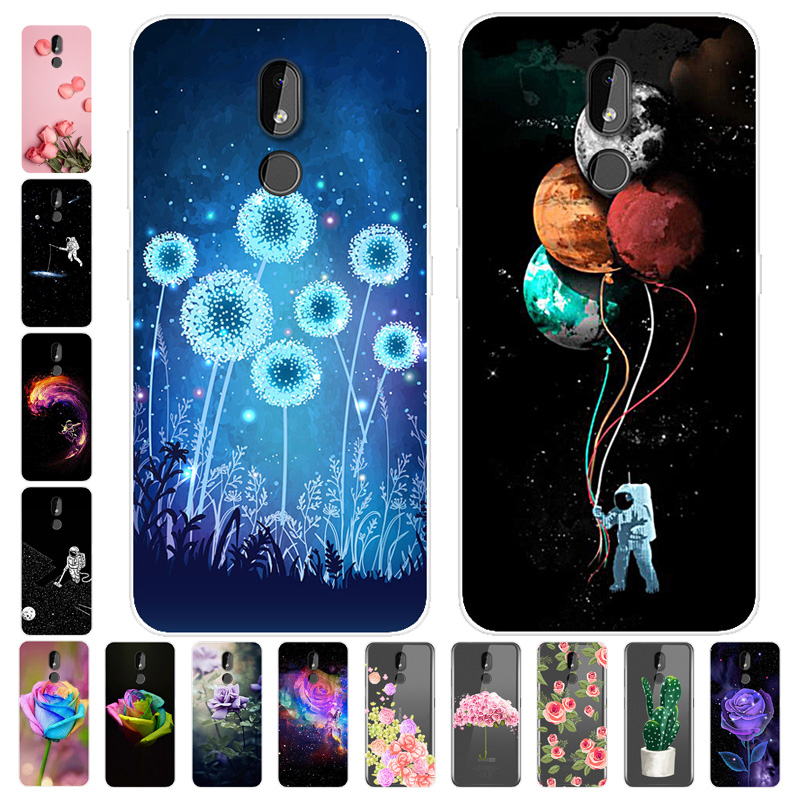 For <font><b>Nokia</b></font> 2.2 <font><b>Case</b></font> <font><b>Phone</b></font> Cover Soft Silicone 3D Printing Back <font><b>Case</b></font> Coque for <font><b>Nokia</b></font> 3.2 4.2 2.2 <font><b>5.1</b></font> 1 Plus X5 2019 <font><b>Case</b></font> Cover image