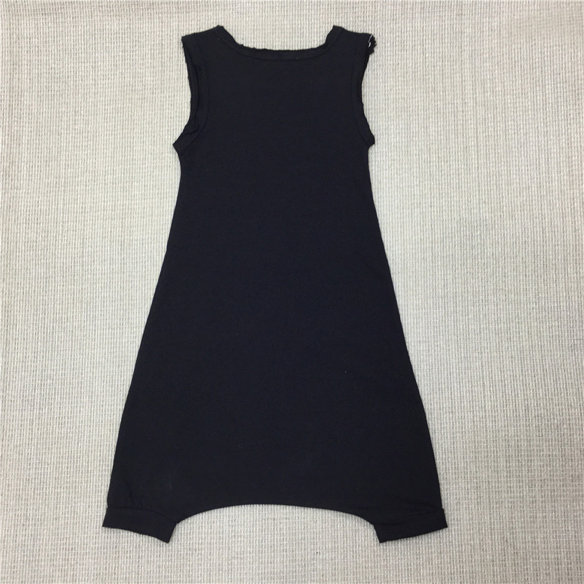 Seartist Baby Boys Summer Rompers Newborn Short Jumpsuit Kids Cotton Plain Color Black Gray Short Jumper Overalls 2018 New 40G