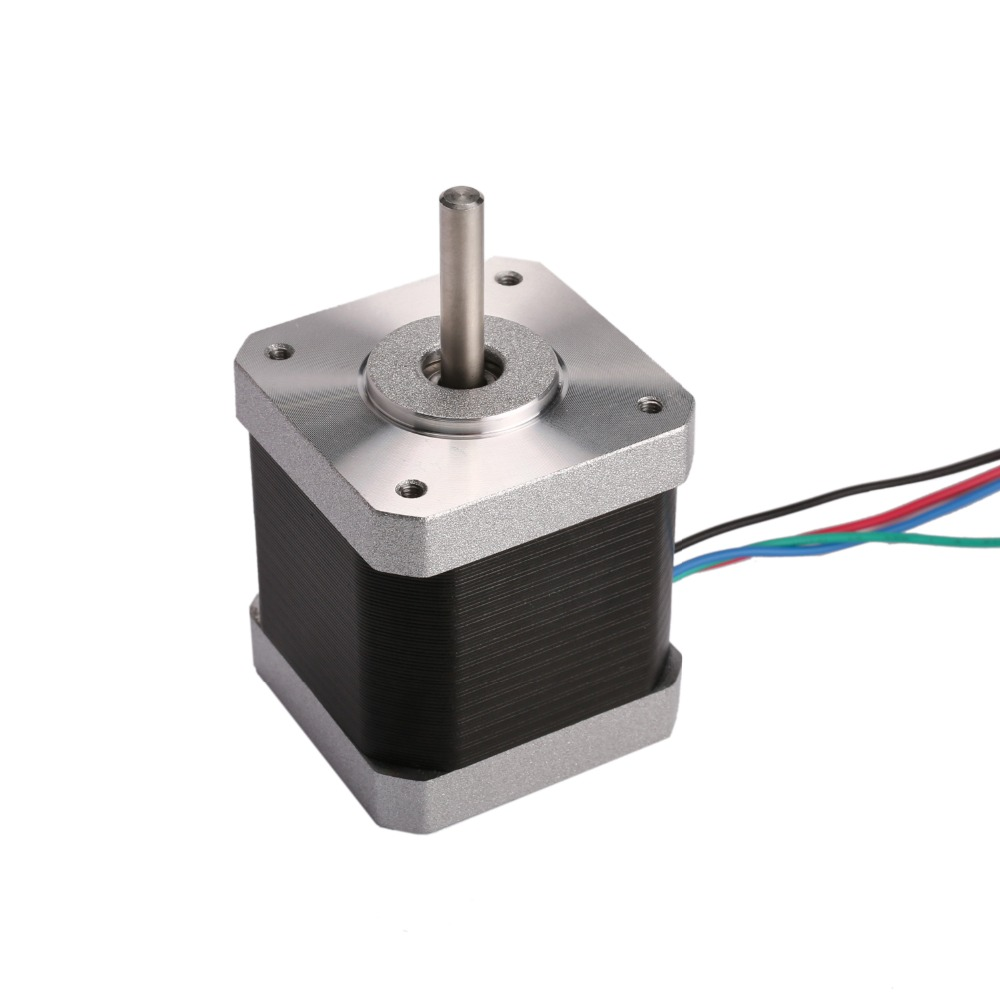 Germania la nave! Wantai 1 PCS Nema 17 Stepper Motor 42BYGHW811 4800g. cm 48 millimetri 2.5A CE ISO ROHS Ricamo Mill IncisioneGermania la nave! Wantai 1 PCS Nema 17 Stepper Motor 42BYGHW811 4800g. cm 48 millimetri 2.5A CE ISO ROHS Ricamo Mill Incisione