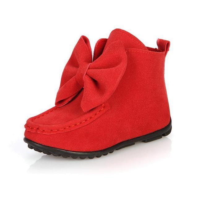 Los fabricantes que venden niños patea los zapatos de moda chicas grandes arco patea los zapatos planos de cuero niños de arranque casual tamaño 21-30 niñas botas
