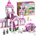 Cogo chica bloques Series de los juguetes para las niñas 3263 princesa Castle 500 unids Building Block Sets Educational DIY juguetes de los ladrillos