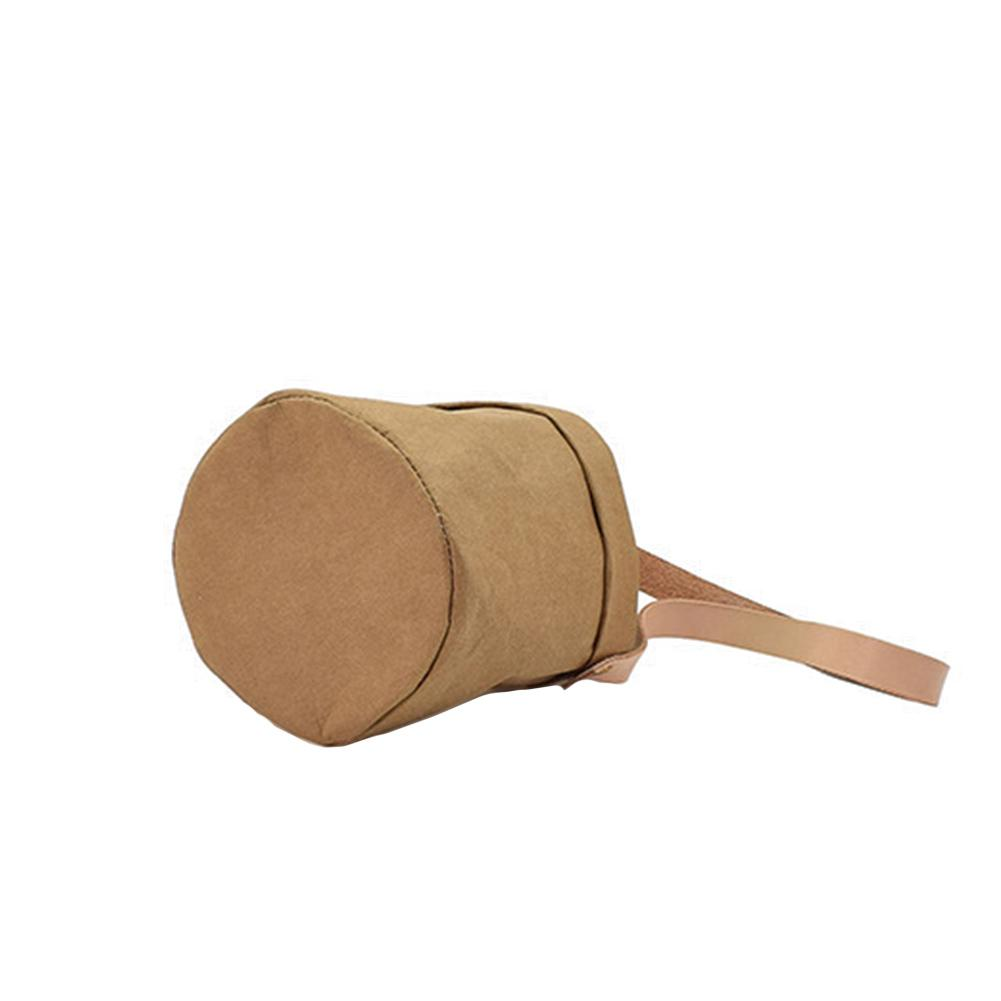 Image 4 - Mini Succulents Planter Pot Washable Kraft Paper Flowerpot Kraft Paper Hanging Flower Pots With Leather Hand Strap Hanging Pot-in Flower Pots & Planters from Home & Garden